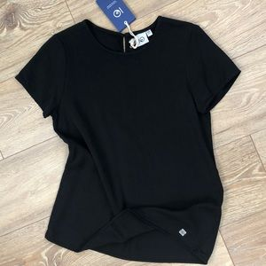 NWT xs black tencel top by Tentree